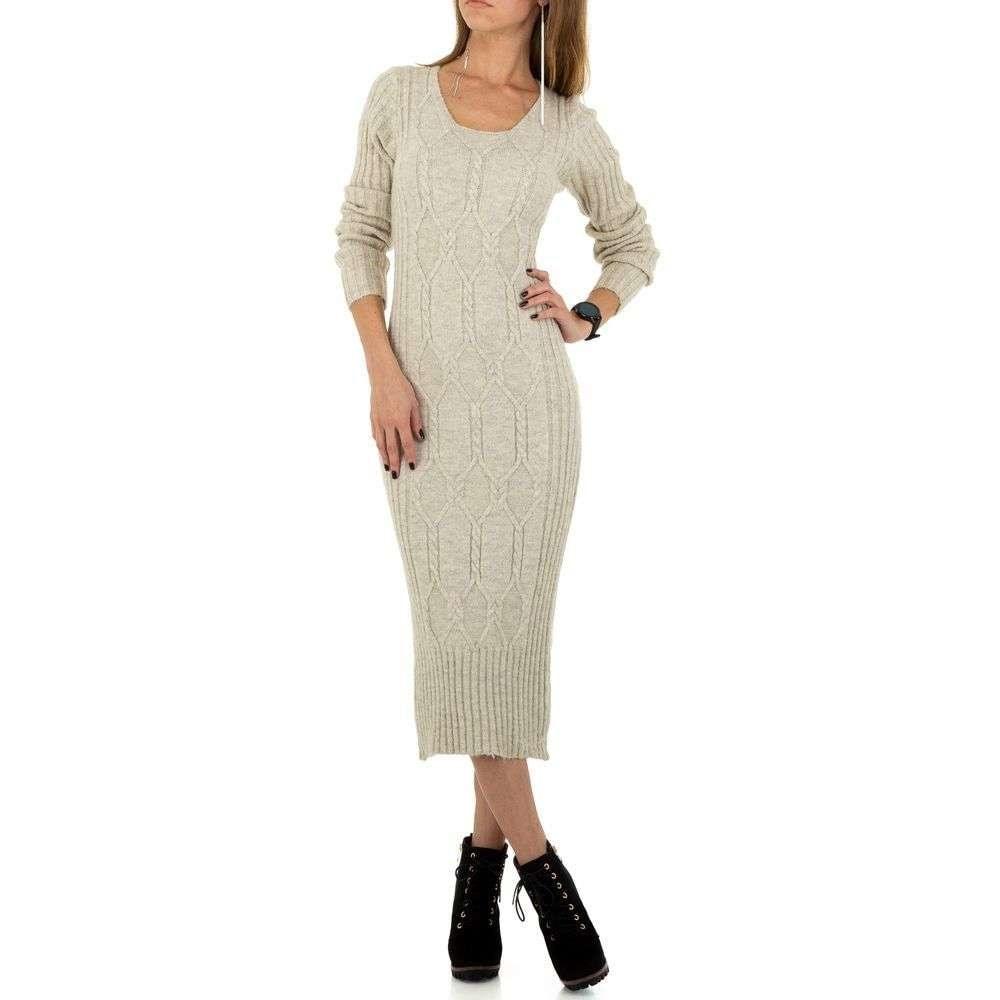 Dámské pletené šaty EU shd-sat1120cr