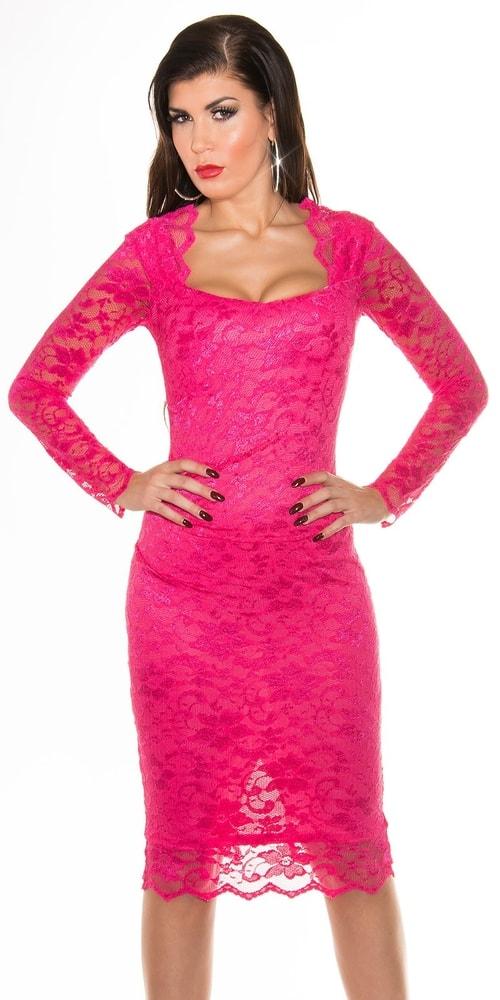 Ružové večerné šaty - 42 Koucla in-sat1009pi