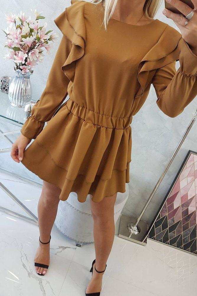 Šaty s volánmi Kesi ks-sa66047ca