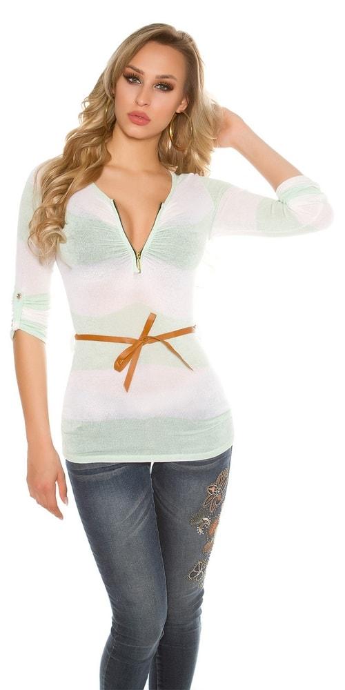 Dámske tričko s dlhými rukávmi Koucla in-tr1229mi