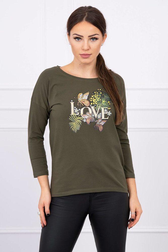 Dámské tričko - Uni Kesi ks-tr0101kh