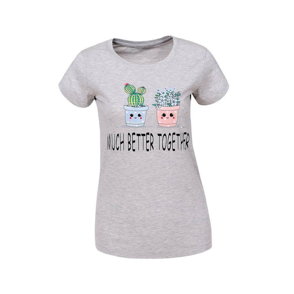 Dámské tričko s potiskem shd-tr1073gr