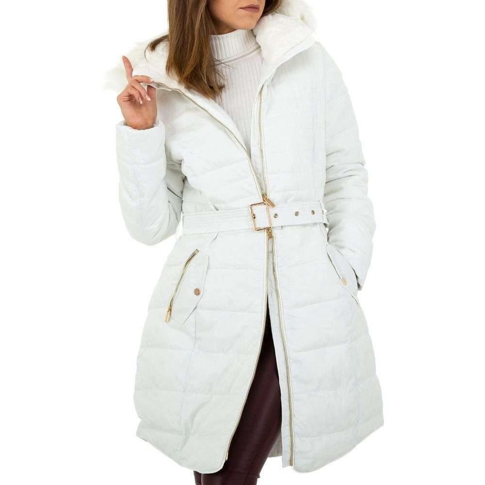 Biela zimná bunda - L/40 EU shd-bu1175wh