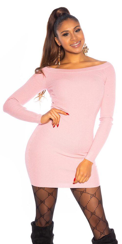 Úpletové dámské šaty Koucla in-sat2142spi