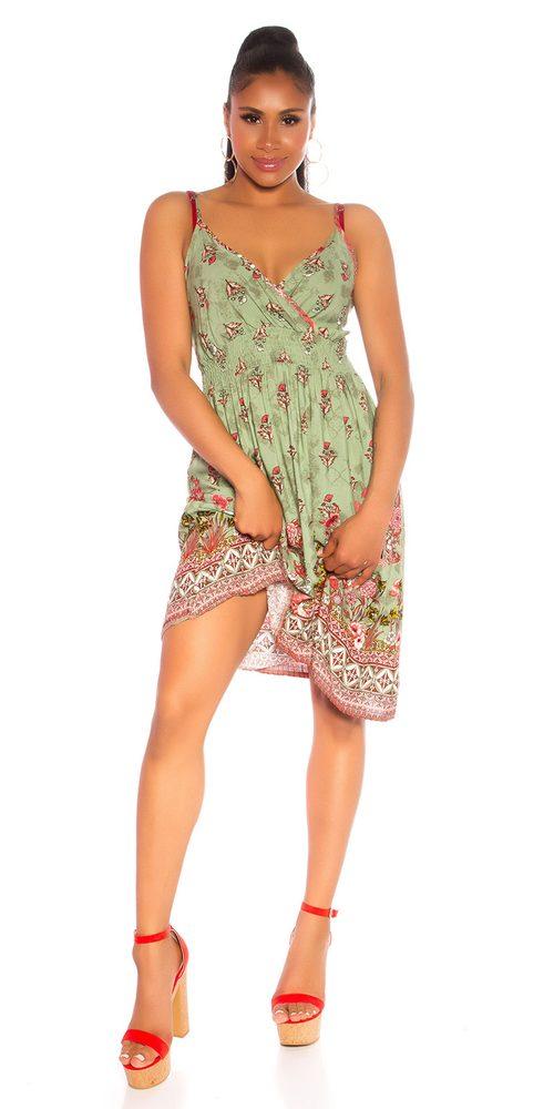 Letní mini šaty Koucla in-sat2194kh