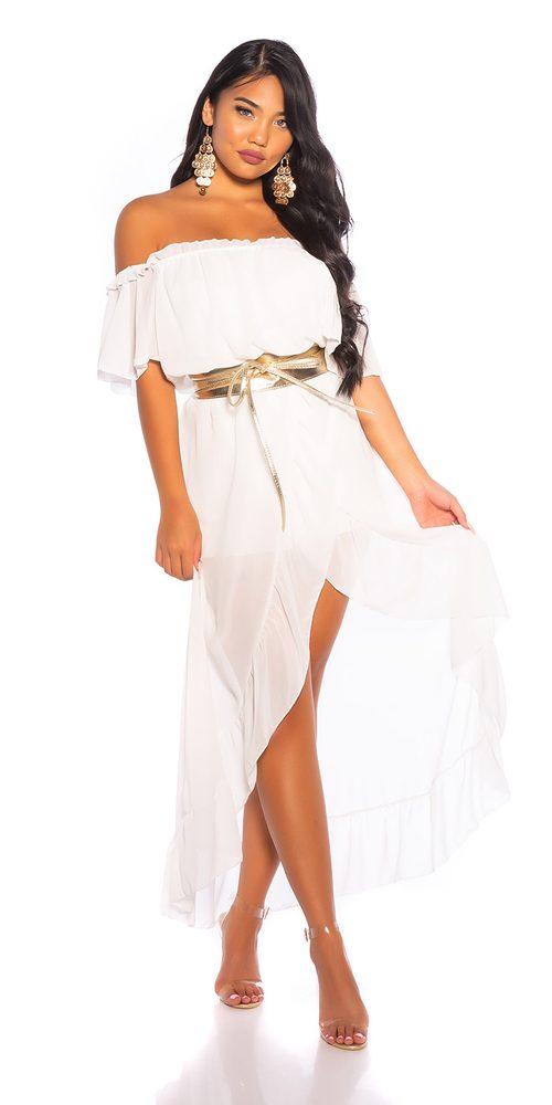 Letní dámské šaty Koucla in-sat2228wh