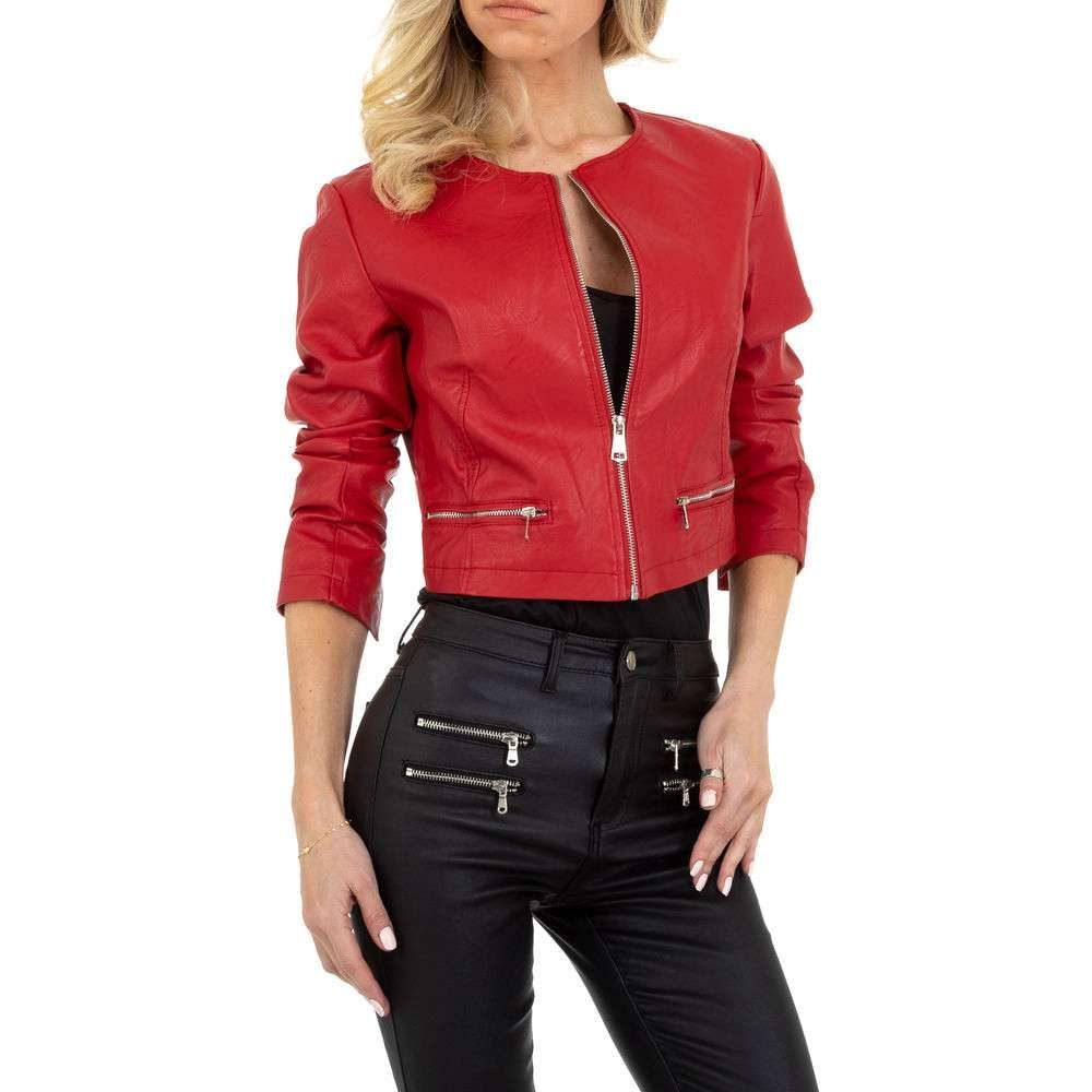 Dámská biker bunda - XL/42 shd-bu1305re