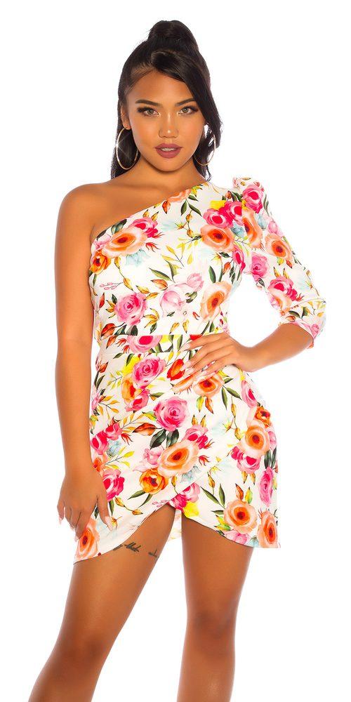 Krátké letní šaty Koucla in-sat2229wh