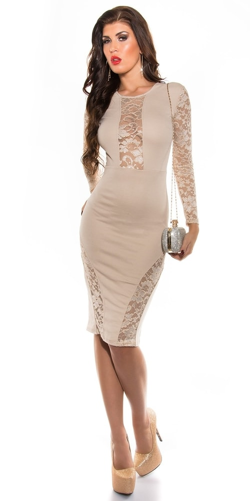 Dámske šaty s čipkou Koucla in-sat1285be