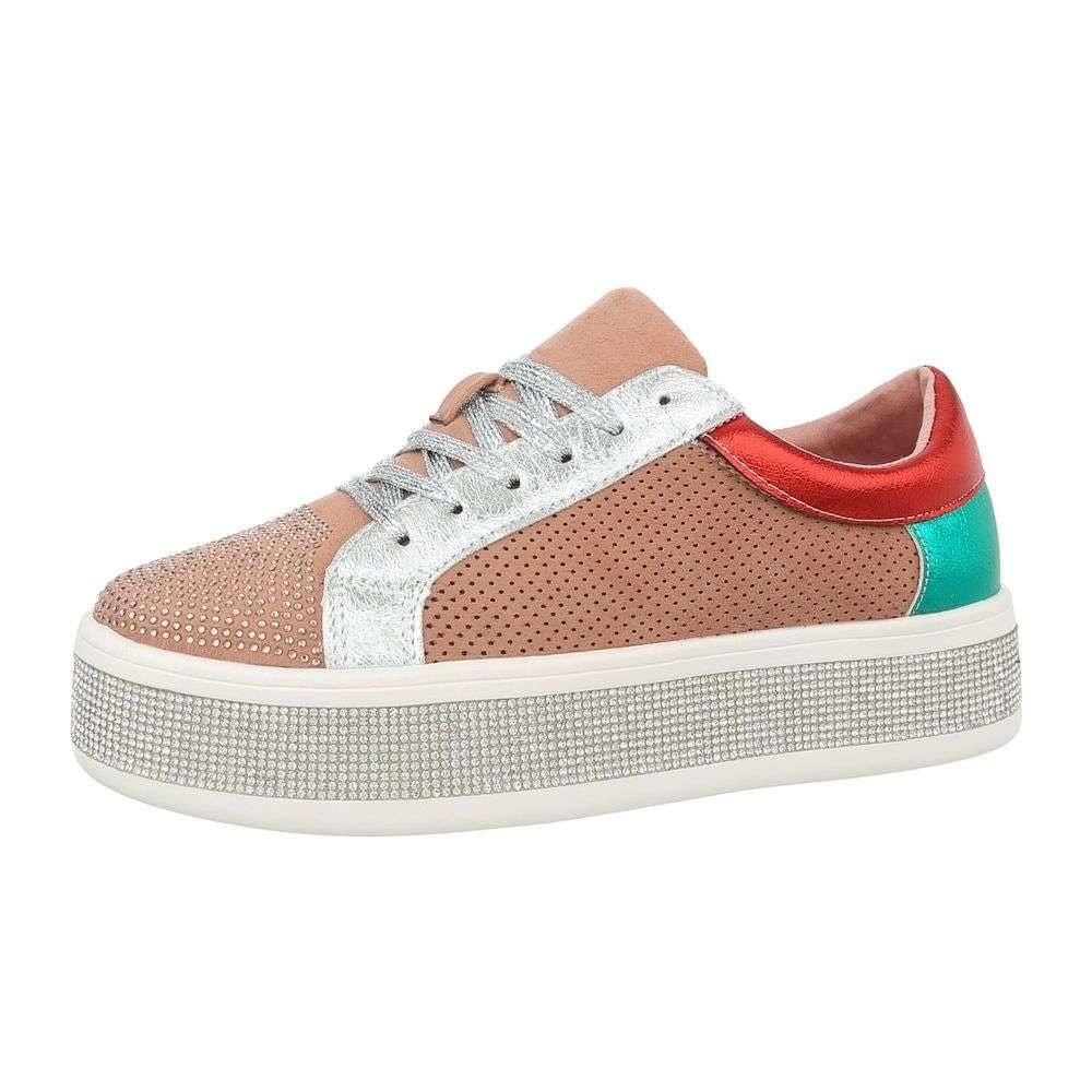 Dámské sneakers na platformě - 37 shd-osn1059pi