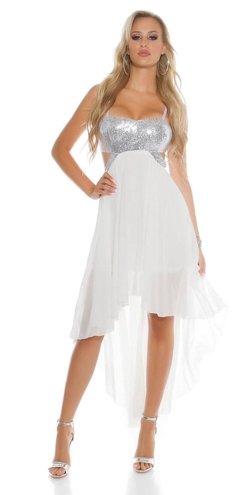 Dámske spoločenské šaty Koucla in-sat1471wh