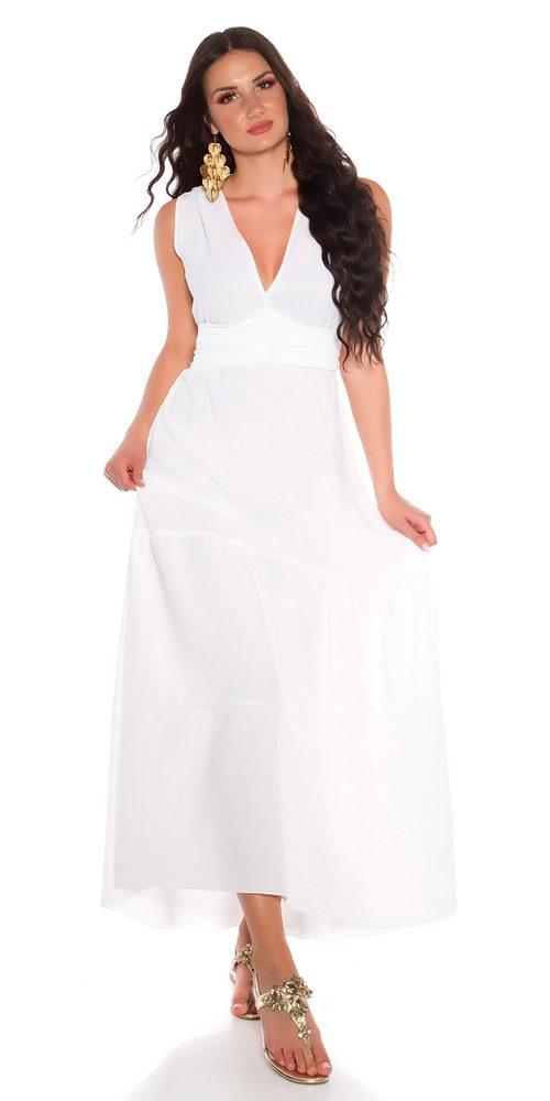 Letní dlouhé šaty Koucla in-sat2219wh