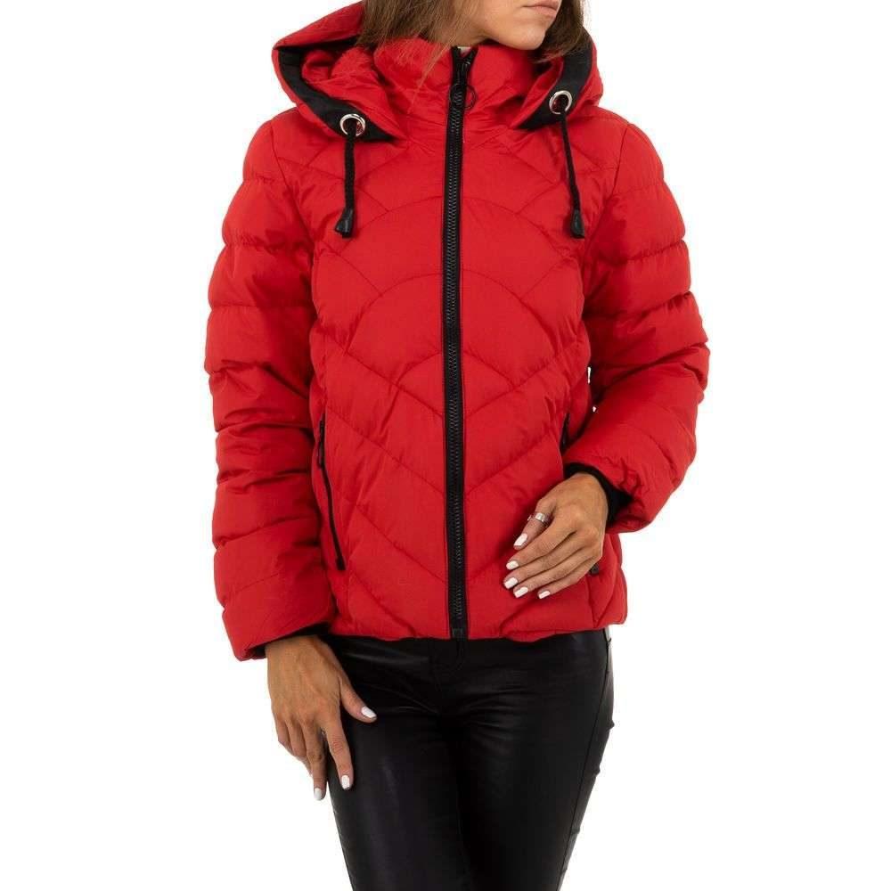 Zimní červená bunda - L/40 EU shd-bu1218re