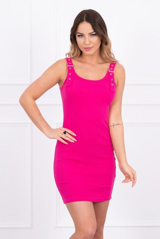 Letné mini šaty na ramienka Kesi ks-sa5427tpi