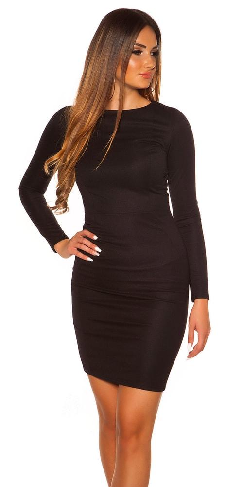 Dámske business šaty - S Koucla in-sat1345bl