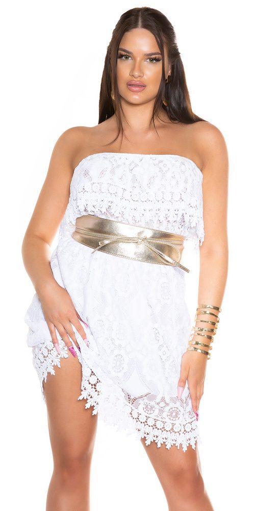 Letní mini šaty Koucla in-sat2291wh