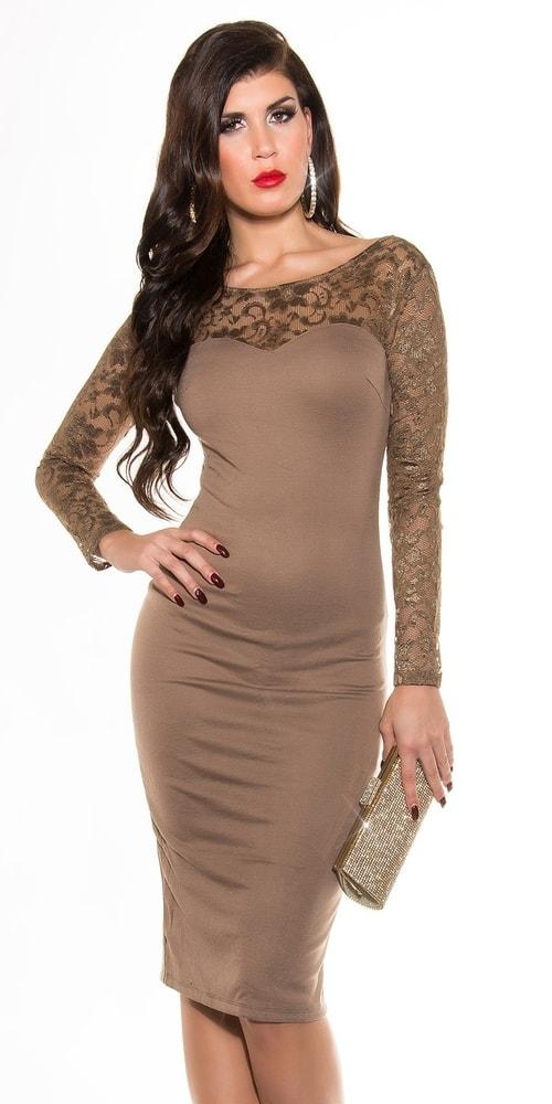 Večerné dámske šaty s čipkou - 36 Koucla in-sat1061ca