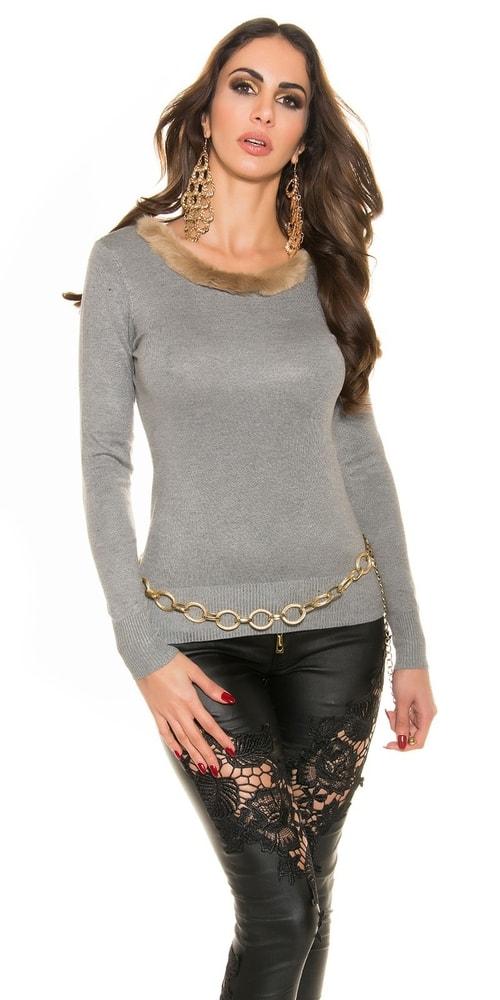 Koucla Dámský sexy svetr