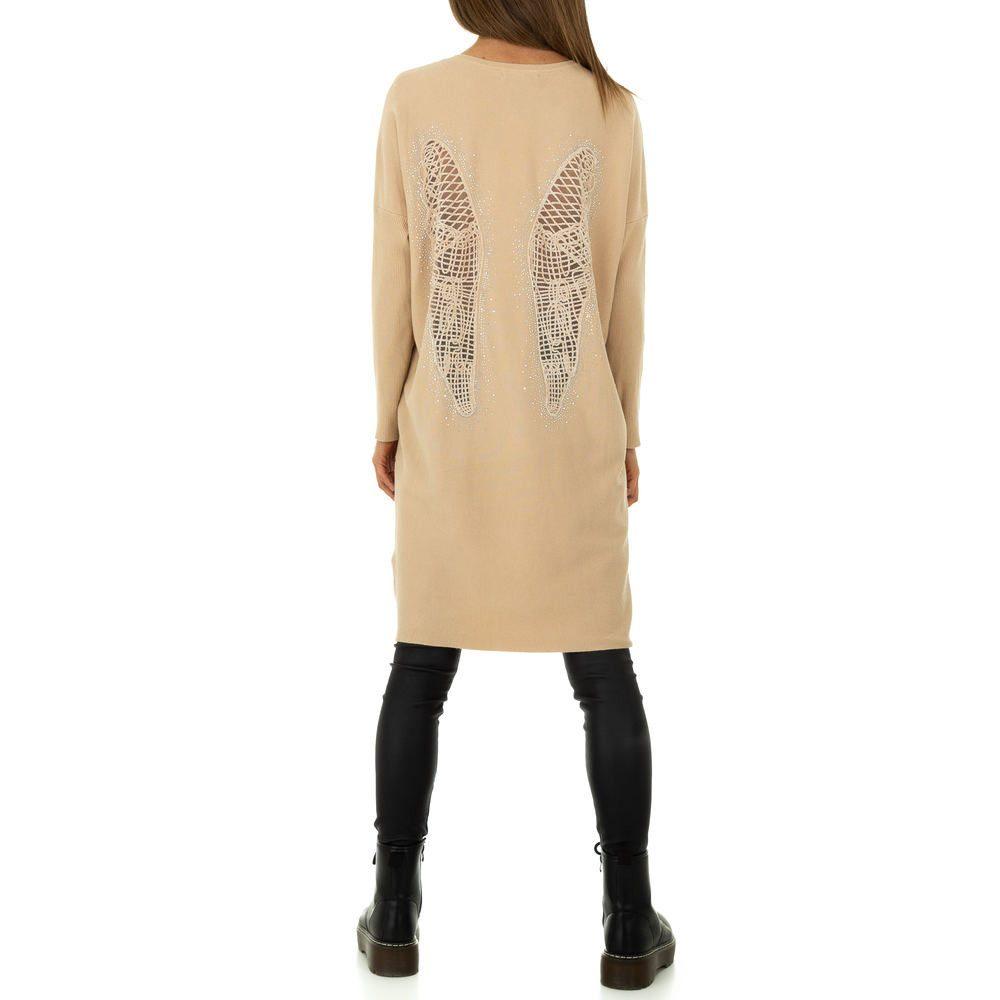Dámské úpletové mini šaty Voyelles shd-sat1261ta