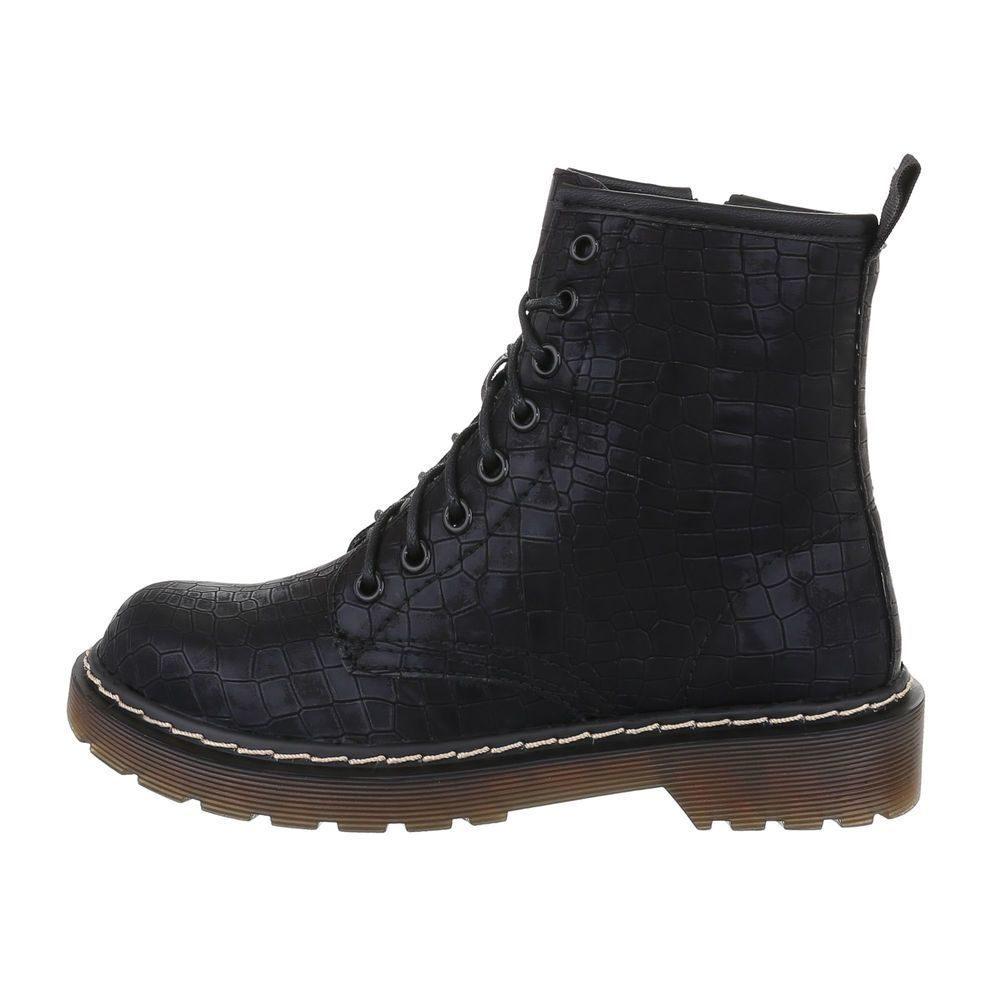 Čierne členkové topánky - 40 EU shd-okk1308bl