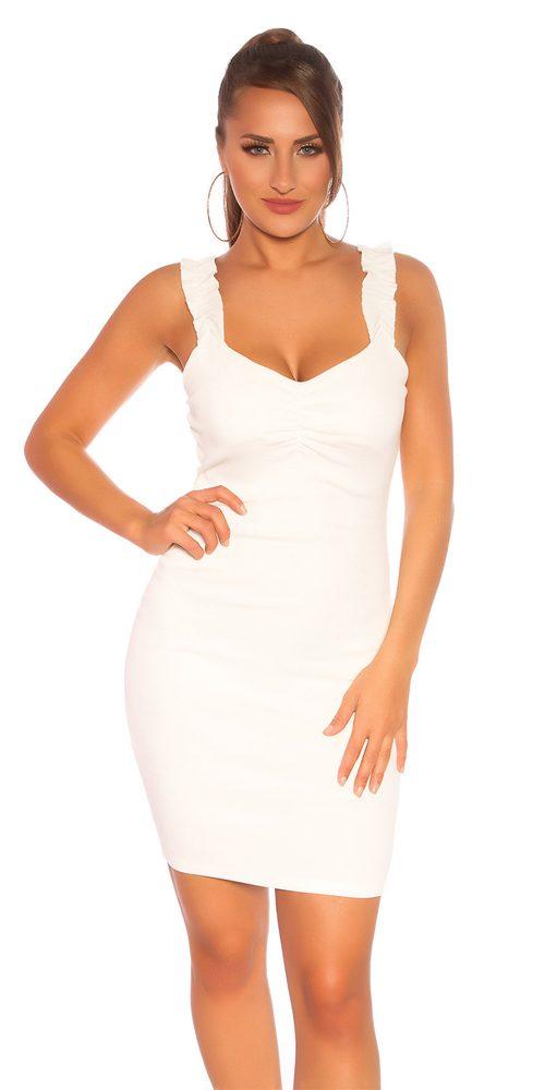 Letní mini šaty Koucla in-sat2197wh