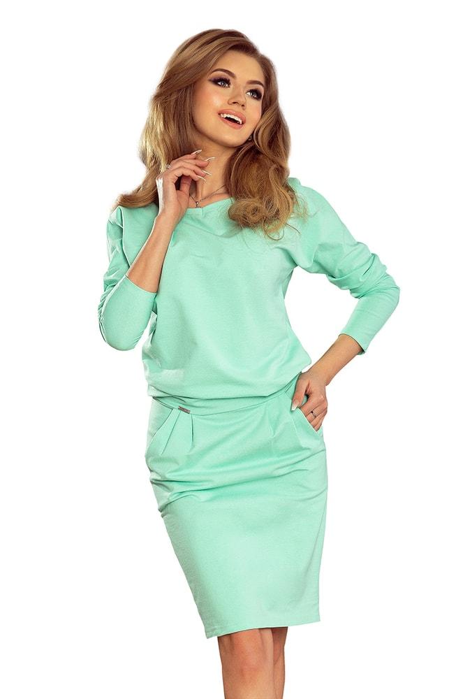Dámske voľnočasové šaty - S Numoco nm-sat189-1
