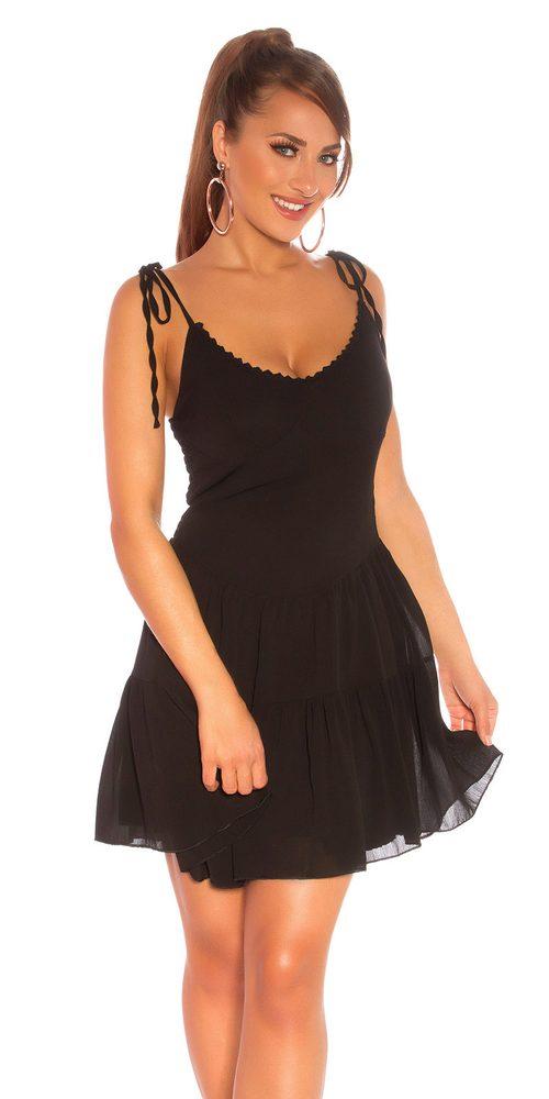Dámské mini šaty Koucla in-sat2203bl