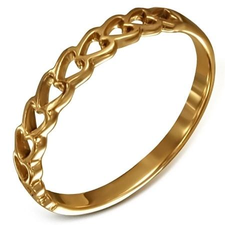 Krásny bronzový prsteň - č.6 DAMSON th-bzr196
