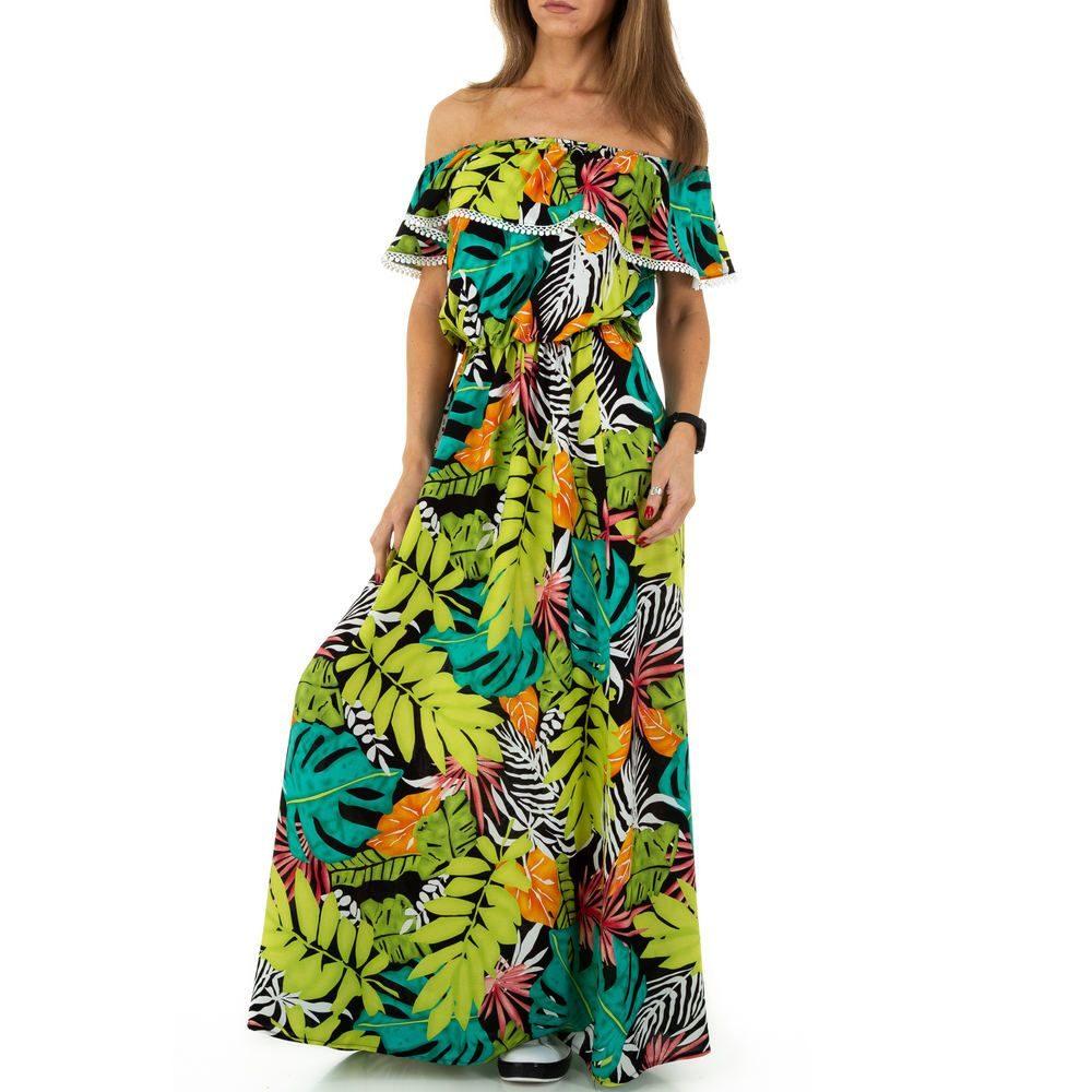 Letní šaty s volánem EU shd-sat1218ze
