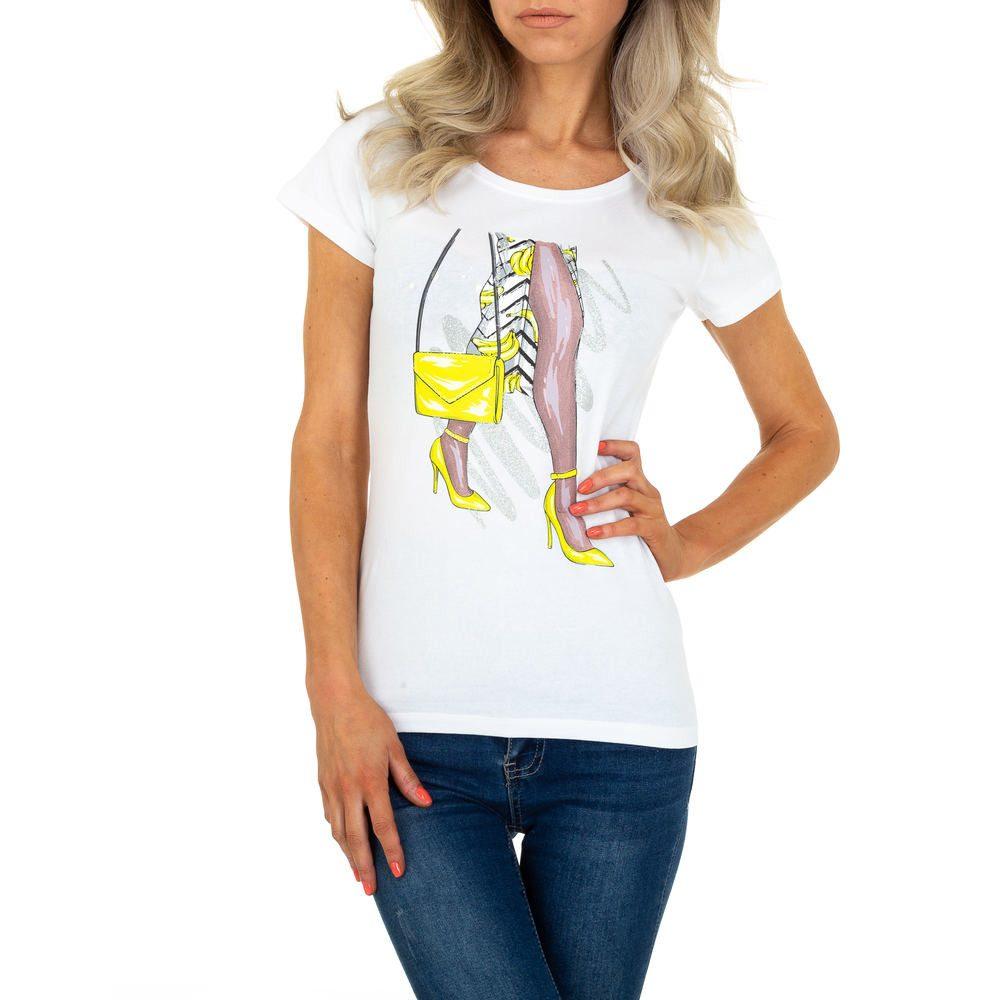 Dámské tričko - XL/42 shd-tr1084wh