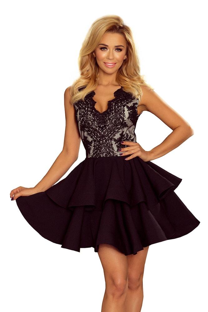 Spoločenské dámske šaty - XS Numoco nm-sat200-3