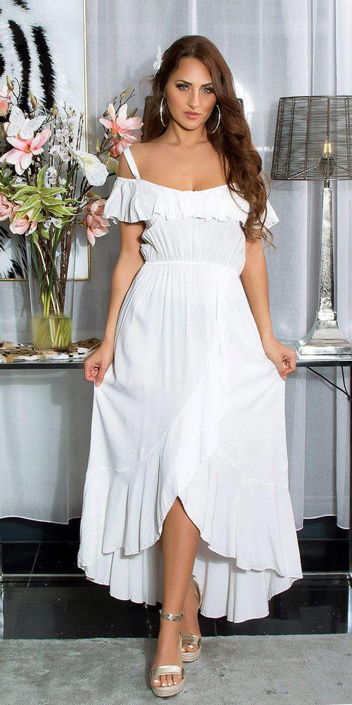 Letní dlouhé šaty Koucla in-sat2191wh