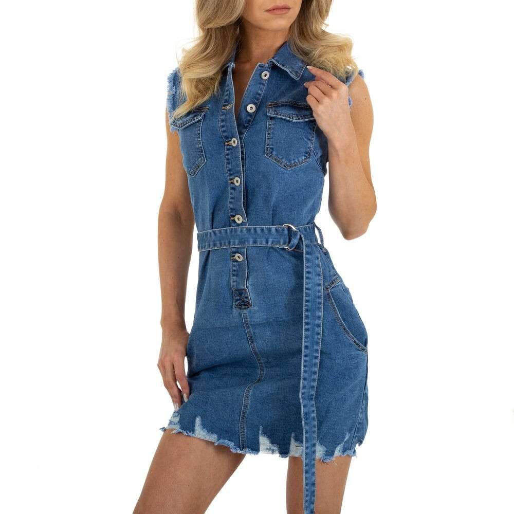 Dámské mini šaty - 12 Stück in blue Size: L, M, S, XL, XS EU shd-sat1299