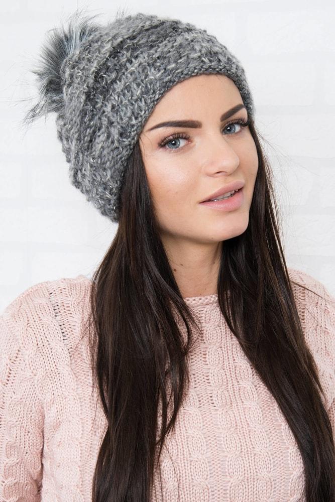 Zimná dámska čiapka Kesi ks-ce158tg