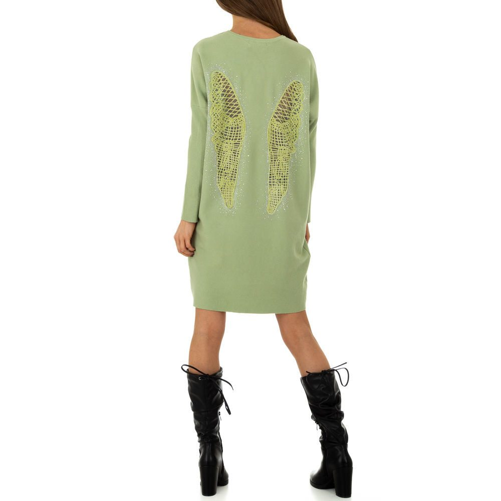 Úpletové dámské mini šaty Voyelles shd-sat1261ze