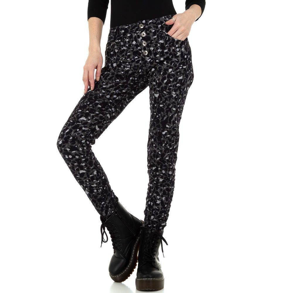 Dámské džíny s potiskem - XL/42 EU shd-ri1514