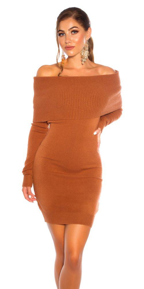 Úpletové dámské šaty Koucla in-sat2233hn