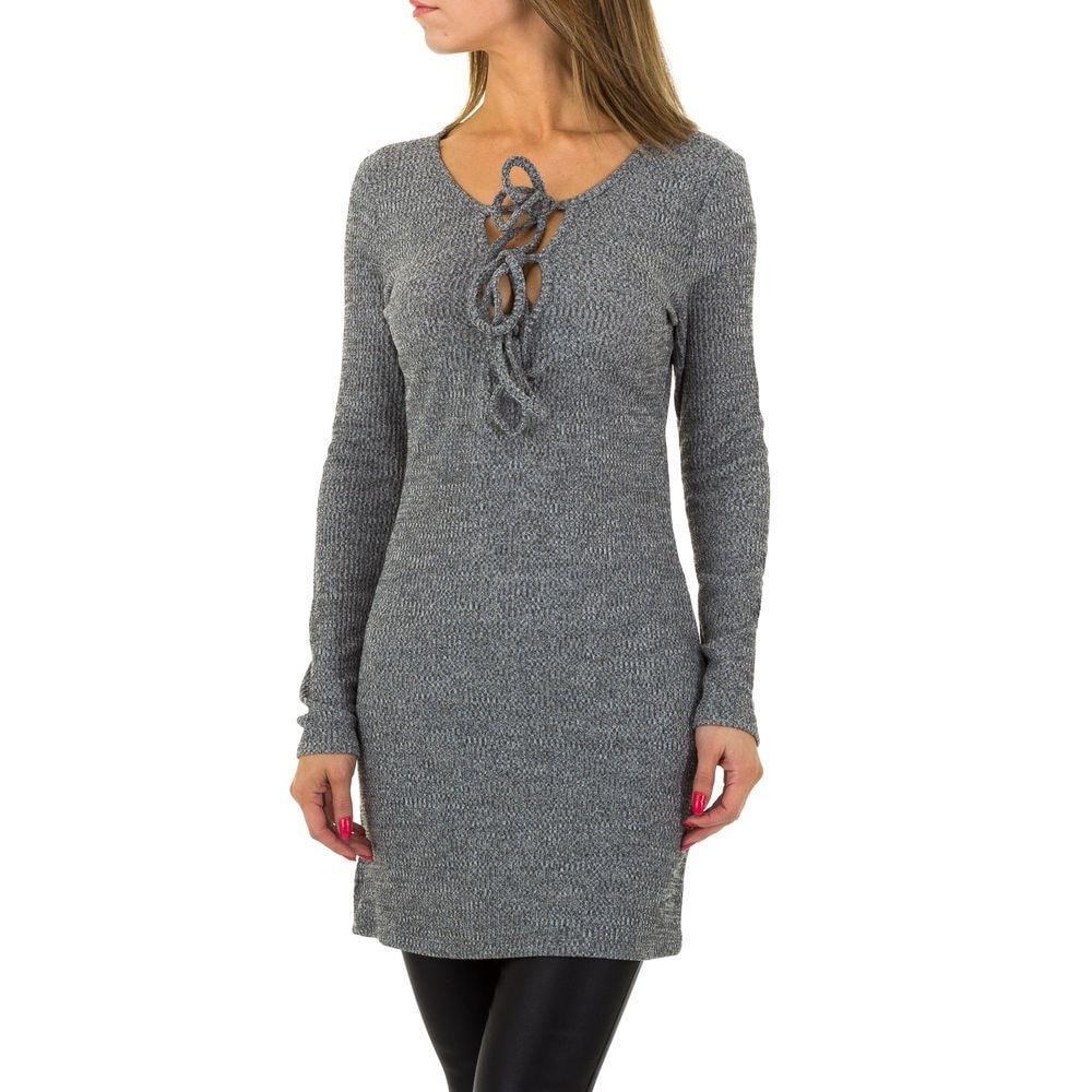 Pletené dámske šaty - M/L EU shd-sat1069gr