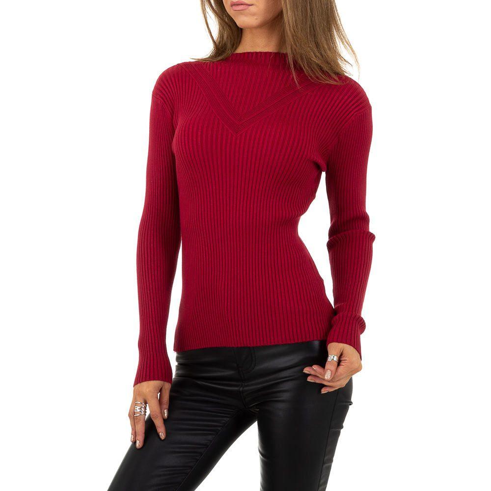 Dámský pulovr červený