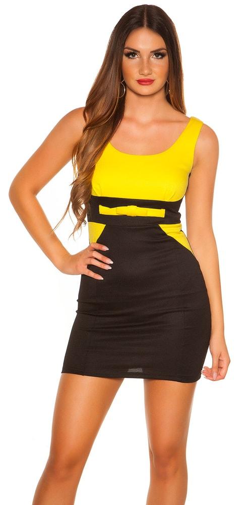 Elegantné dámske mini šaty - XL Koucla in-sat1541ge