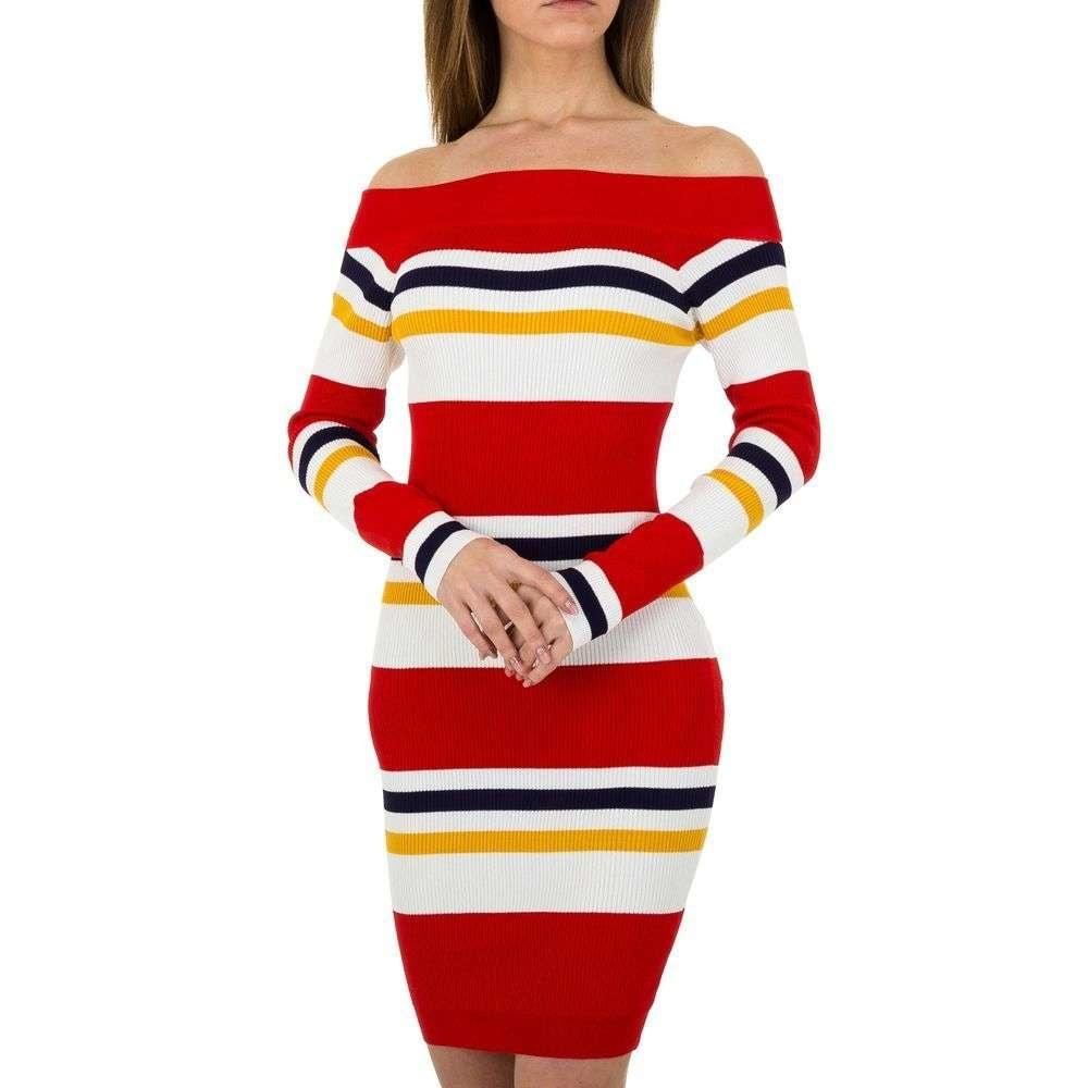 Úpletové dámské šaty EU shd-sat1053re