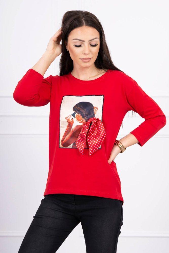 Dámské tričko - Uni Kesi ks-tr66825re