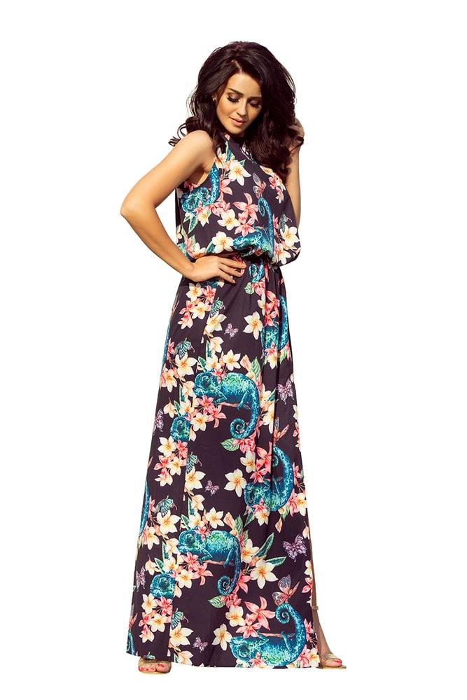 Letní dlouhé šaty - XL Numoco nm-sat191-3
