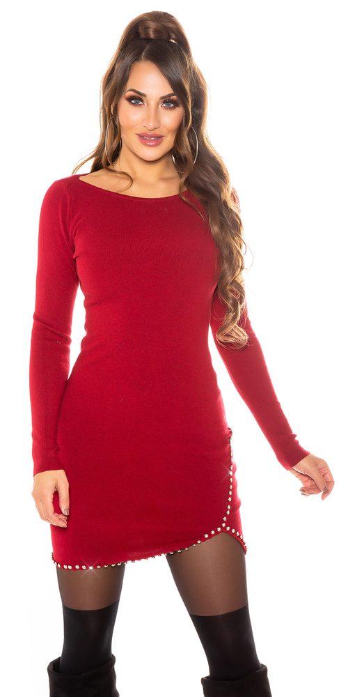 Úpletové šaty Koucla in-sat2263bo