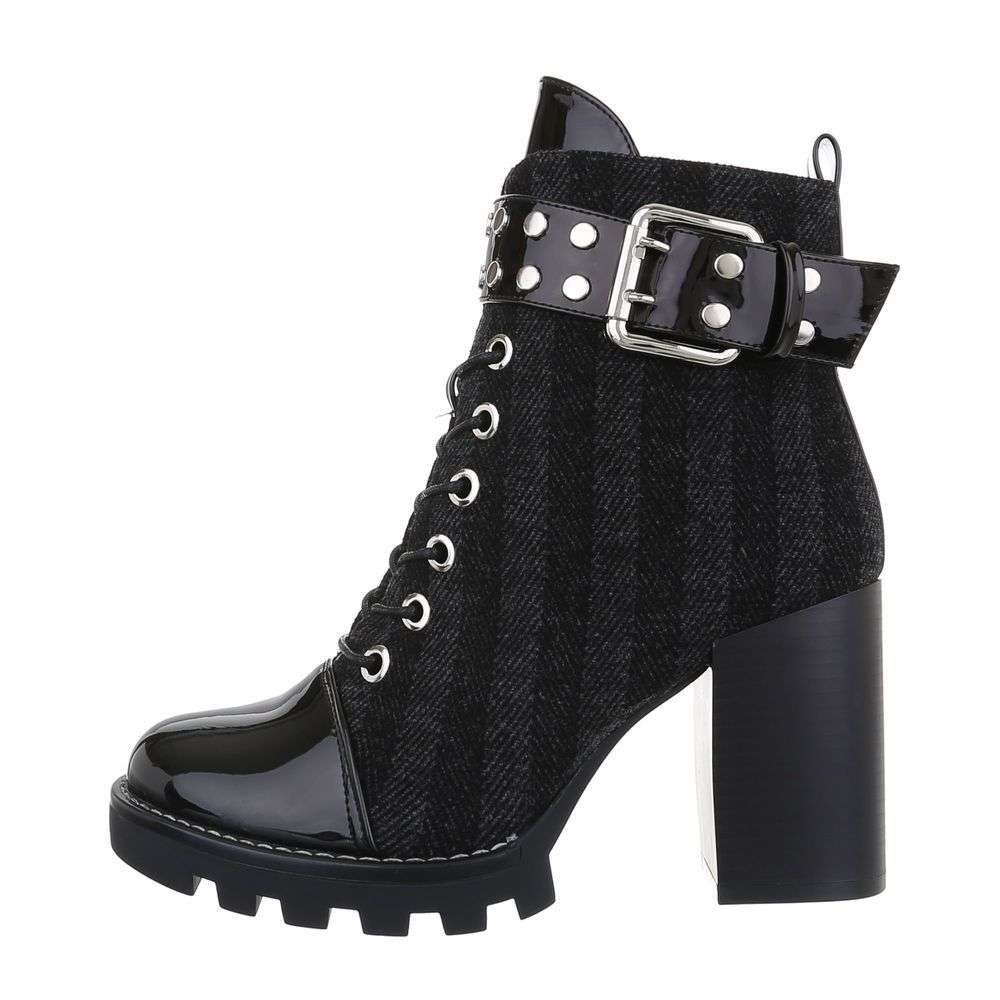 Členková obuv dámska - 39 EU shd-okk1289bl