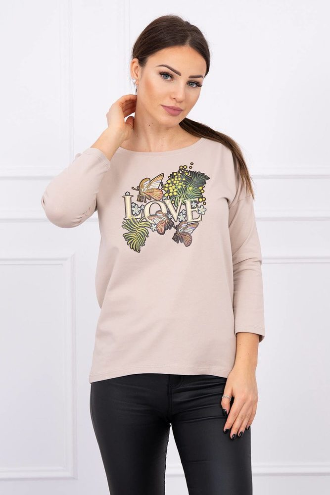 Dámské tričko - Uni Kesi ks-tr0101be