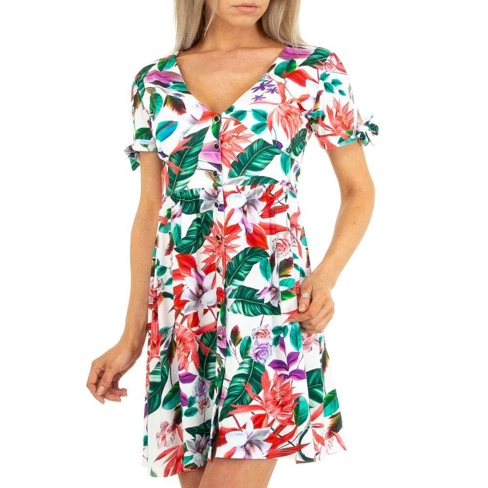 Letní krátké šaty - XL/42 EU shd-sat1325wh