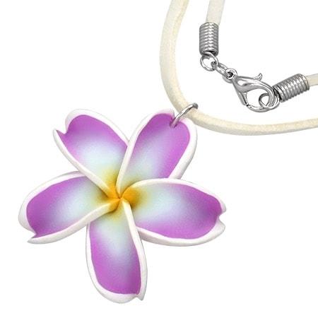 Dívčí fimo náhrdelník DAMSON th-fpb023