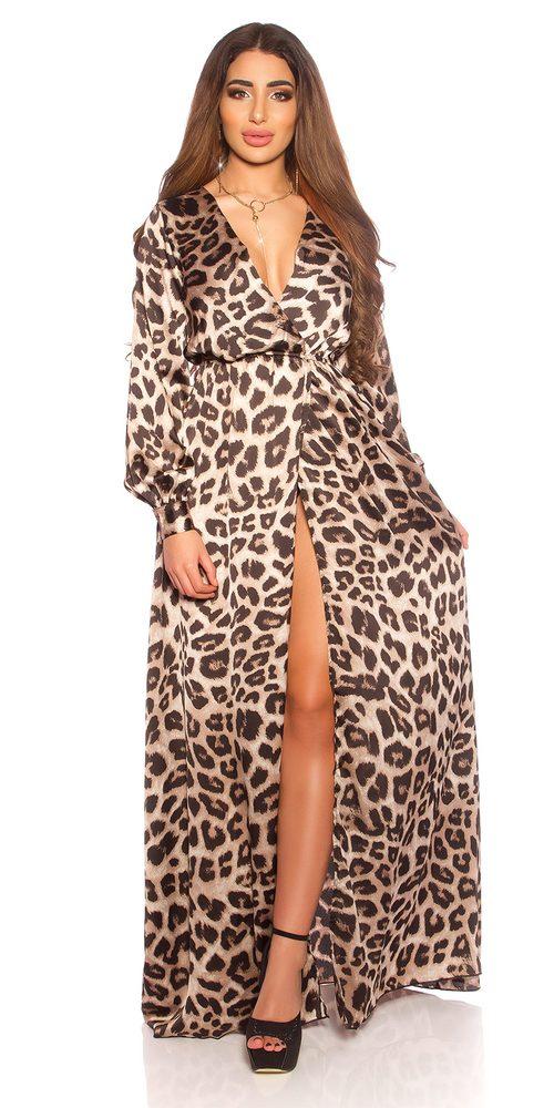 Dámské dlouhé letní šaty Koucla in-sat2172leo