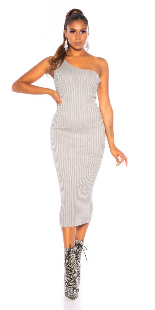 Dámské šaty z úpletu Koucla in-sat2245gr